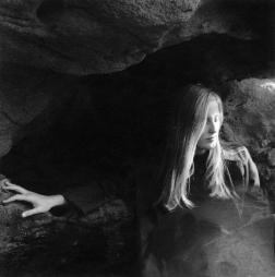 """Emilie Halpern, """"Phoenix,"""" 2010, Archival pigment print on cotton rag paper & fingerprints, 13 x 14 inches (33 x 35.5 cm), Edition 1/3"""