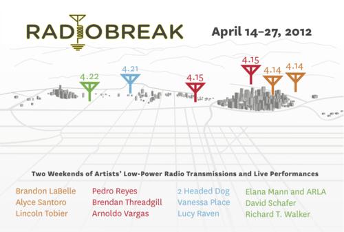 Radio Break postcard
