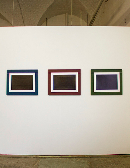 Installation view of Ciarán Walsh