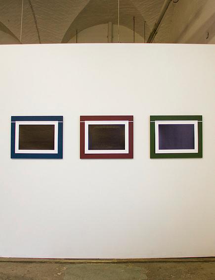 Installation view of Ciarán Walsh