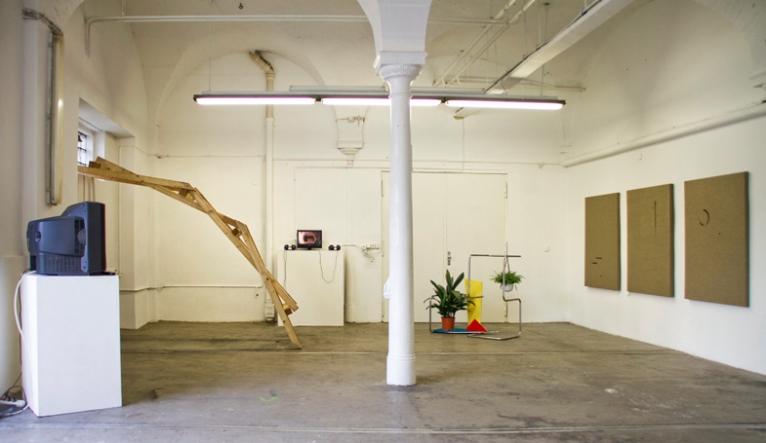 North gallery installation view