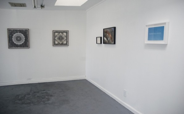 Installation view, from left to right: Brendan Threadgill, Tamara Sussman, Ginny Cook
