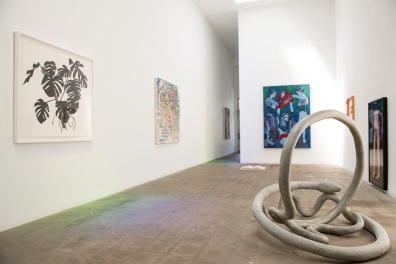 "Installation view, ""The White Album,"" Richard Telles Fine Art, Los Angeles"