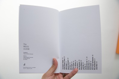 Interior view of The White Album catalog