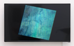Christopher Badger Occulted by Clouds: Los Angeles California 1982-2013, 2014 Multispectral Landsat images obtained from the United States Geological Survey Single channel video loop, TRT 14:06 Dimensions variable