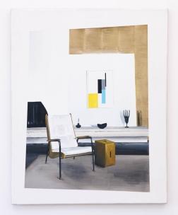 Eduardo Consuegra Strick House, 2005, 2014 Oil on linen 30 x 24 inches (76.2 x 60.9 cm)