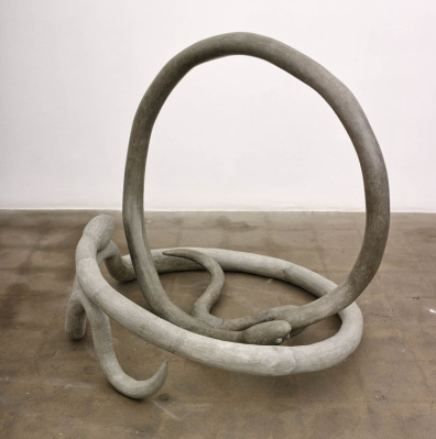 Kathleen Ryan More is More Snake Bracelets, 2014 45 x 48 x 45 inches (114.3 x 121.9 x 114.3 cm) Concrete, rebar