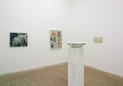 "Installation view of ""The White Album,"" Richard Telles Fine Art, Martel Gallery, Los Angeles"