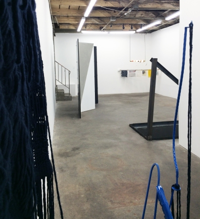 "Installation view of ""The Elegant Universe"" at The Pit, Los Angeles"