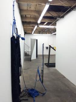 Installation view of The Elegant Universe at The Pit, Los Angeles