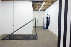 """Installation view of """"The Elegant Universe"""" at The Pit, Los Angeles"""