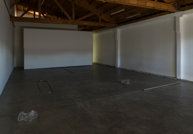 Installation view of Nick Bastis and Nick Raffel, JOAN, Los Angeles, June 18 – July 24, 2016.