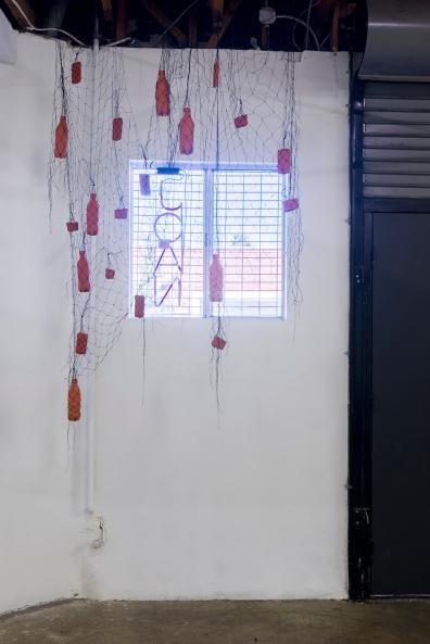 Installation view of Clarissa Tossin, Zona Franca de Manaus, 2016, JOAN, Los Angeles, Photo by Jeff McLane.